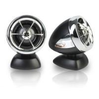 Set tweetere auto Peiying Neodymium, 25 mm, 150 W, 90 dB