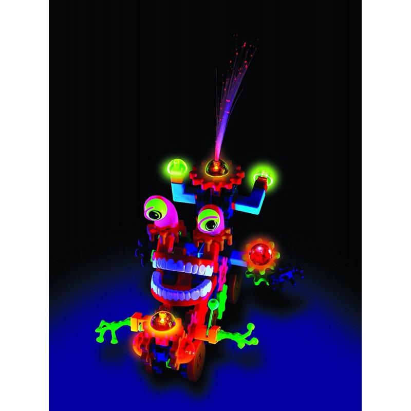 Setul micutului constructor Waxky Learning Resources, 130 rotite colorate, 5 - 9 ani