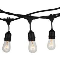 Sir iluminat festiv, 40 W, soclu E27, 15 m, IP65, cablu cauciucat