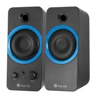 Boxe multimedia 2.0 NGS, 20 W, jack 3.5 mm, control volum