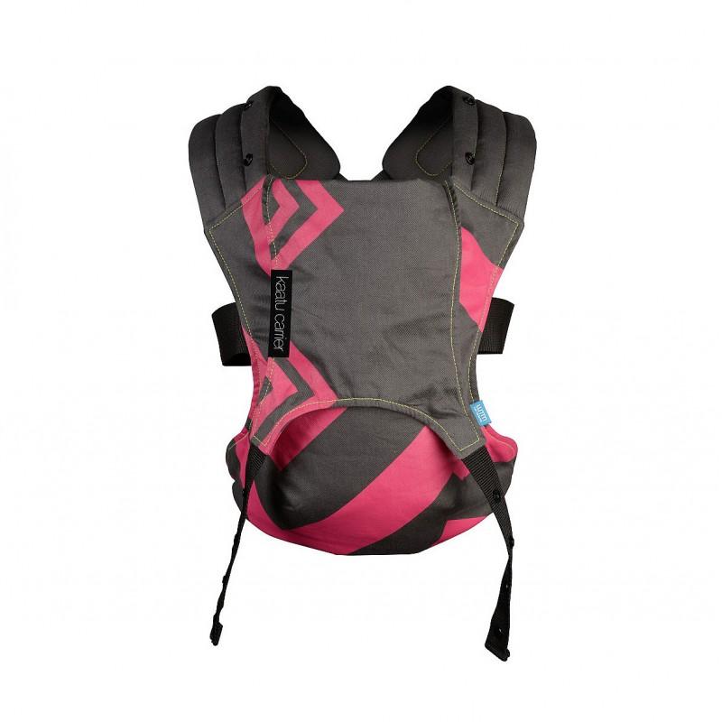 Sistem de purtare Venture We Made Me, suporta maxim 25 kg, Bubblegum/Charcoal Zigzag 2021 shopu.ro