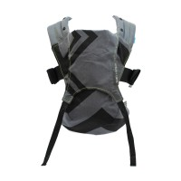 Marsupiu Venture+ Zigag We Made Me, 0 luni+, Charcoal Grey/Black