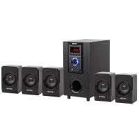 Sistem multimedia 5.1 Intex, 4 ohmi, 80 dB, Negru