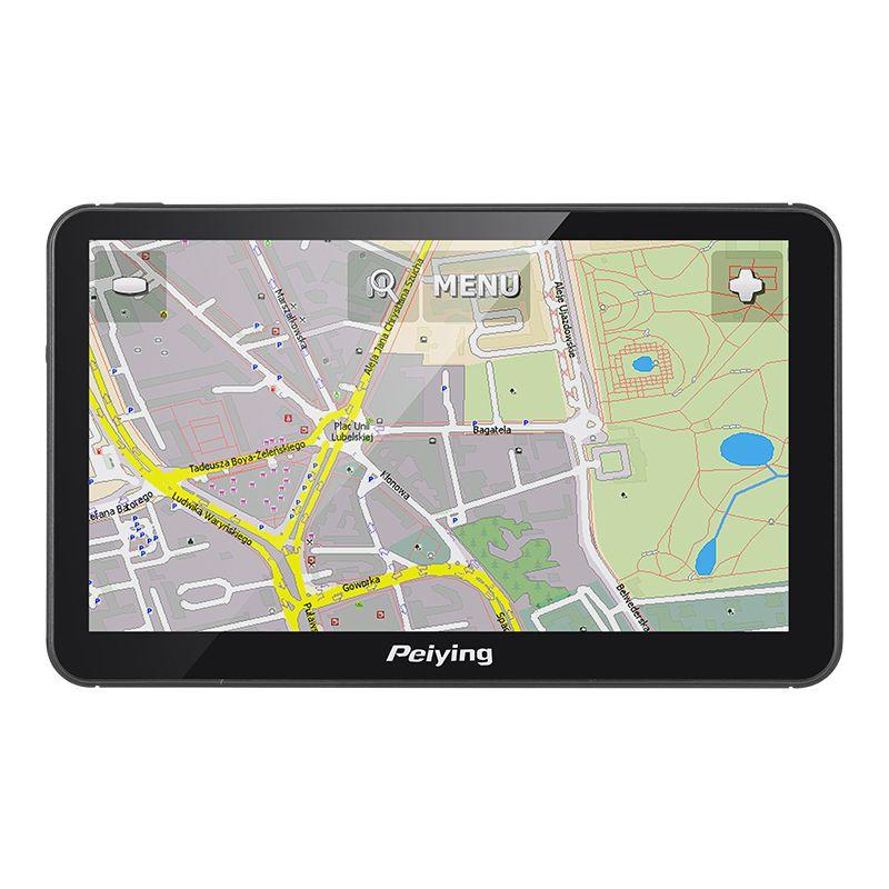 GPS Auto cu harti Peiying, 7 inch, 8 GB, antena incorporata 2021 shopu.ro