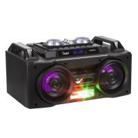 Sistem portabil Quer, radio FM, MP3, LCD, USB, bluetooth, karaoke