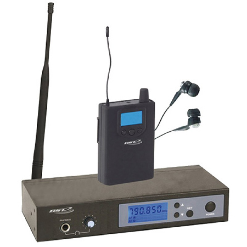 Sistem profesional BST, casca monitor, 160 canale, receptor la centura 2021 shopu.ro