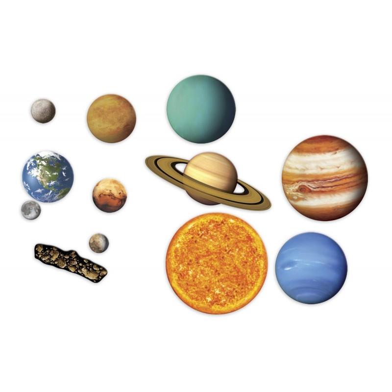 Sistem solar magnetic Learning Resources, 8 planete, centura asteroidala