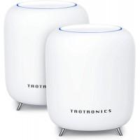 Sistem Wi-Fi Mesh Taotronics Tri-Band, AC3000, Gigabit, 3Gbps, 802.11 ac, USB 3.0, 2 bucati, Alb