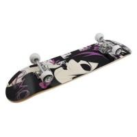 Skateboard DHS, 79 x 28 cm, artar chinezesc, roti PVC, maxim 65 kg, 6 ani+, model emo