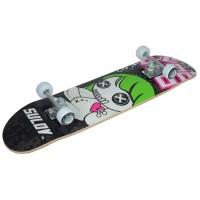 Skateboard Voodoo DHS, 31 x 8 inch, aluminiu, roti PVC, maxim 65 kg, Multicolor