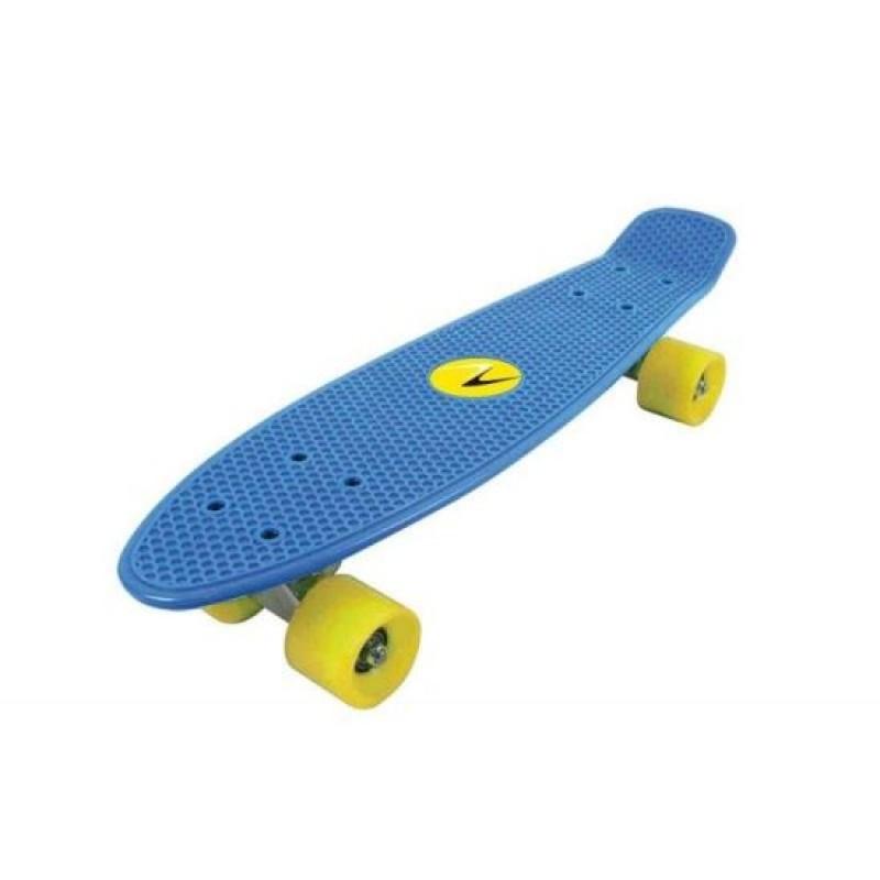 Skateboard Nextreme Freedom DHS, 57 x 15.2 cm, termoplastic, maxim 80 kg, 6 ani+, Albastru 2021 shopu.ro