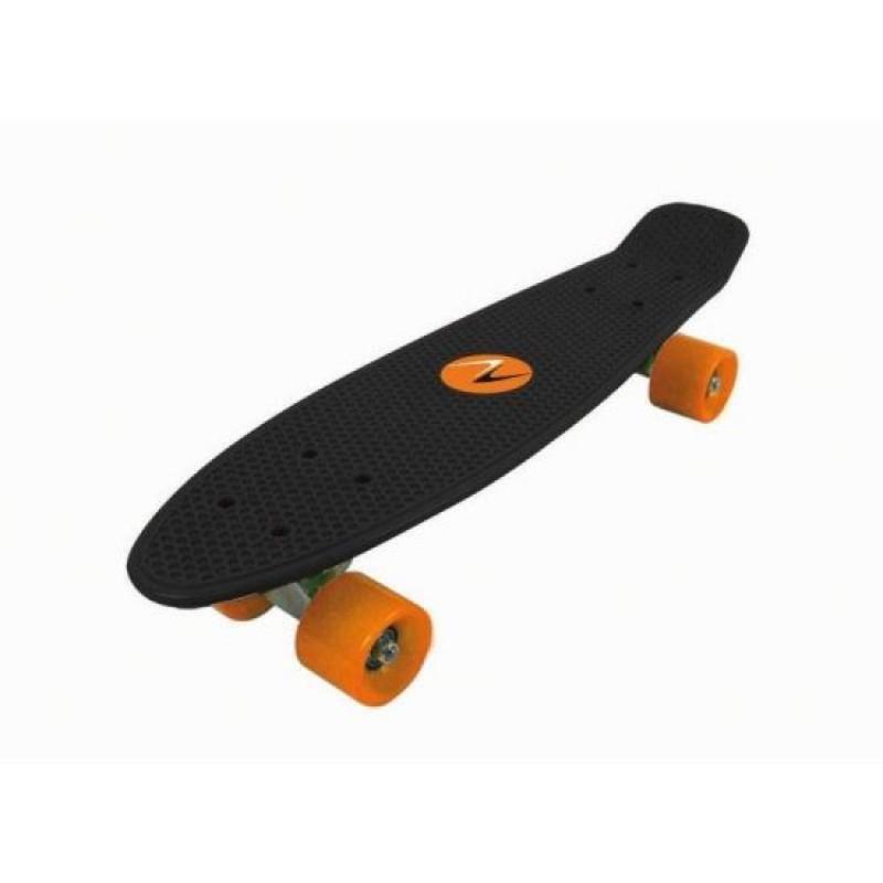 Skateboard Nextreme Freedom DHS, 57 x 15.2 cm, termoplastic, maxim 80 kg, 6 ani+, Negru 2021 shopu.ro