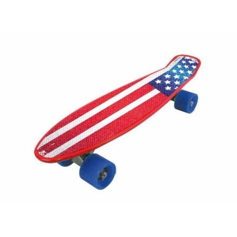 Skateboard Nextreme Freedom Pro, 57 x 15.2 cm, termoplastic, roti 60 mm, maxim 80 kg, 6 ani+, model USA 2021 shopu.ro