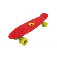 Skateboard Nextreme Freedom DHS, 57 x 15.2 cm, termoplastic, maxim 80 kg, 6 ani+, Rosu
