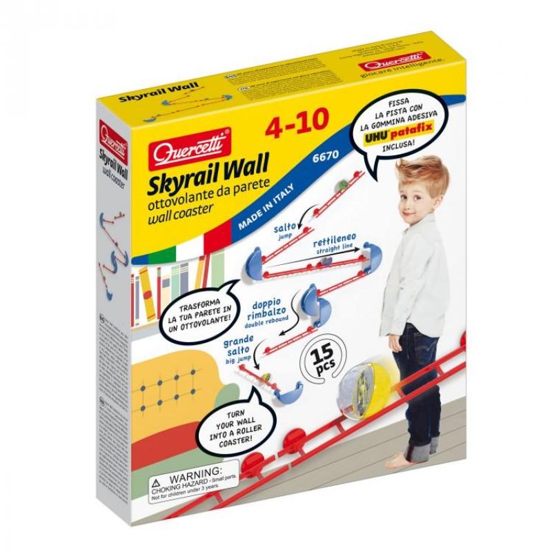 Skyrail Wall Quercetti, 16 piese, 4 ani+