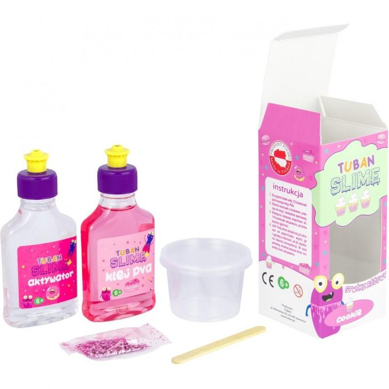 Set Slime DIY Cookie Tuban, 6 ani+, Roz 2021 shopu.ro