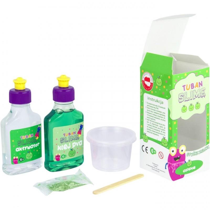 Set Slime DIY Mar Tuban, 6 ani+, Verde 2021 shopu.ro