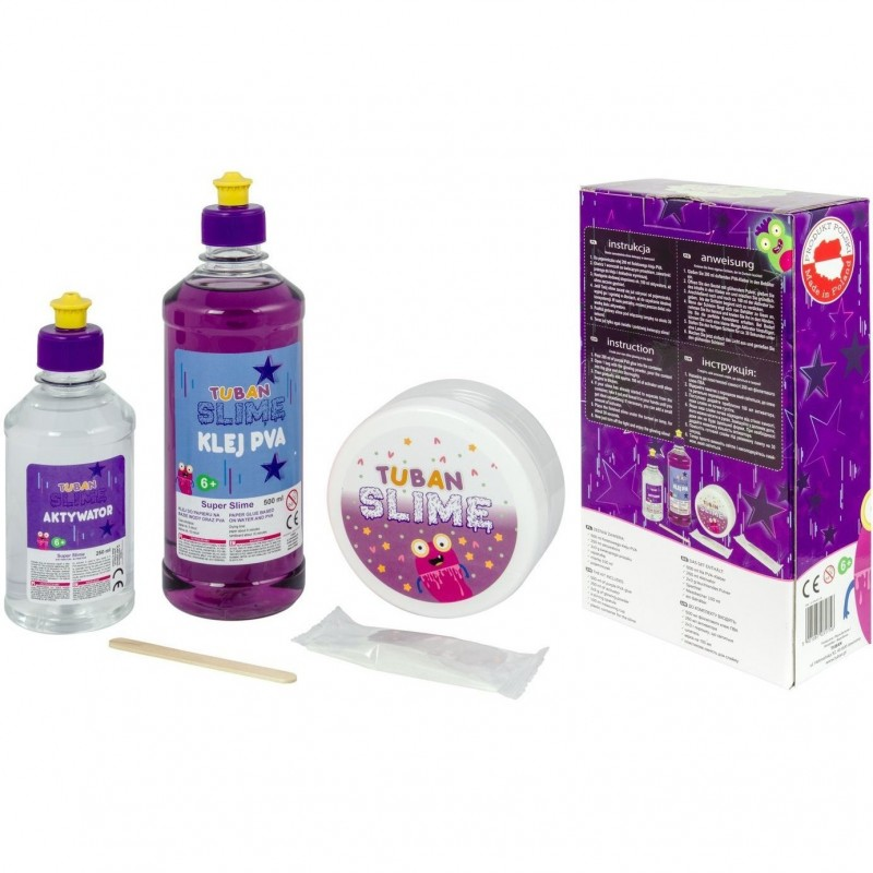 Set Slime XL DIY Fosforescent Tuban, 6 ani+, Mov 2021 shopu.ro