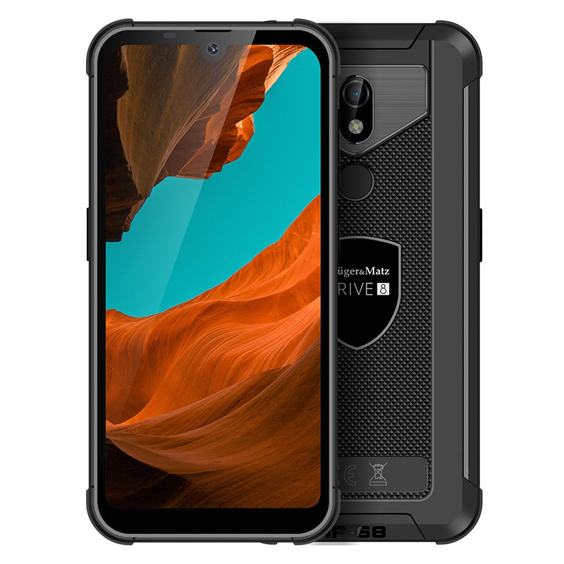 Smartphone Live 8 Kruger&Matz, display 6.1 inch, 128 GB, 720 x 1520 px, 5000 mAh, Negru 2021 shopu.ro
