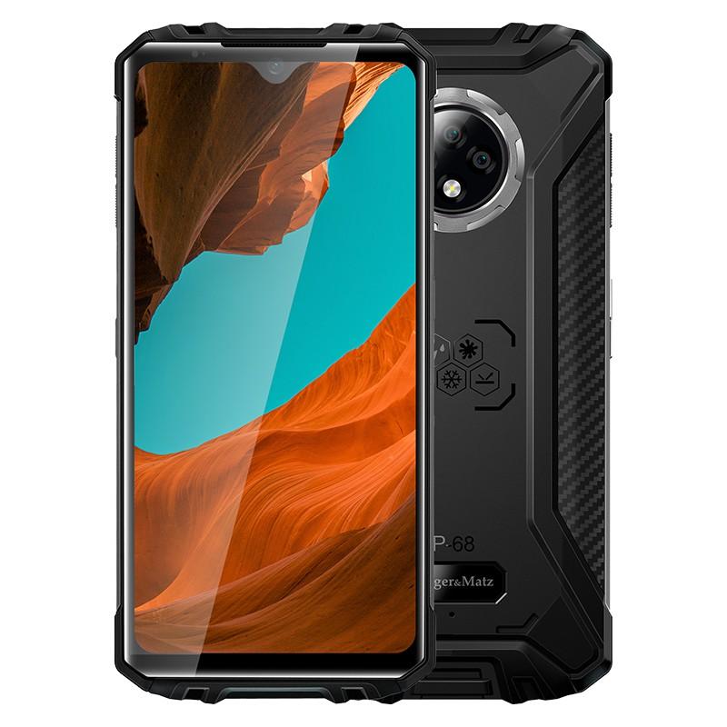 Smartphone Drive 9 Kruger & Matz, 6.5 inch, 64 GB, 4 GB, 720 x 1560 px, 5000 mAh, amprenta, senzor G, 2 x slot SIM 2021 shopu.ro