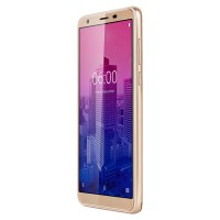 Telefon mobil Flow 6 Lite Kruger & Matz, Dual-SIM, Quad-Core, 8 GB, 1 GB RAM, cititor de amprenta, Gold
