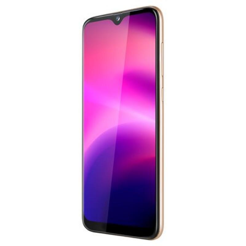 Smartphone Flow 7 Kruger & Matz, Quad-Core, memorie 32 GB, rezolutie 600 x 1280 pixeli, Auriu 2021 shopu.ro