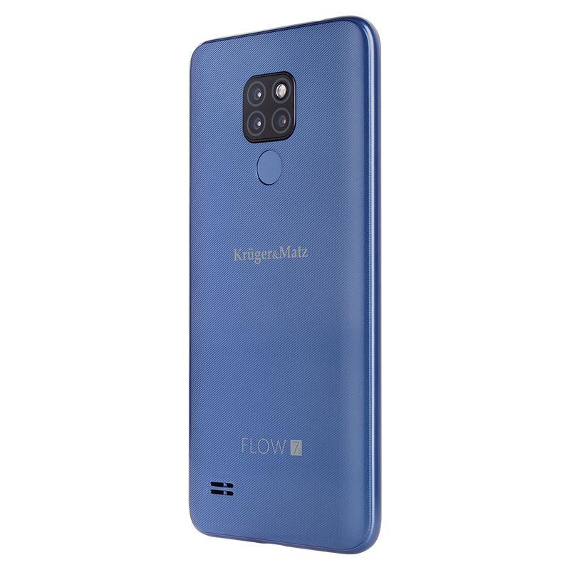 Smartphone Flow 7S Kruger Matz, memorie 32 GB, diagonala 6.21 inch, albastru