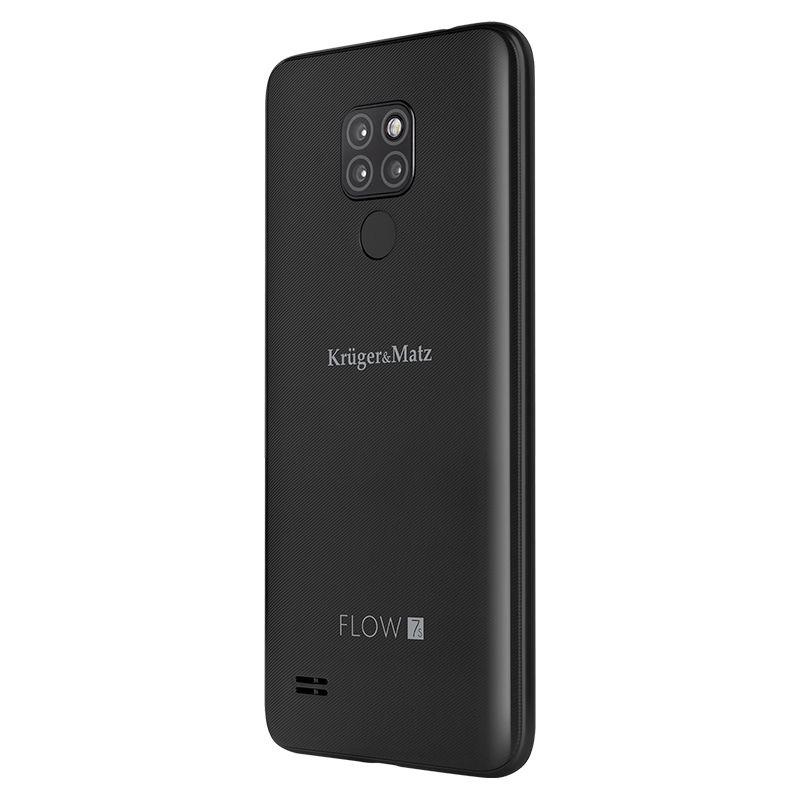 Smartphone Flow 7S Kruger Matz, memorie 32 GB, diagonala 6.21 inch, negru