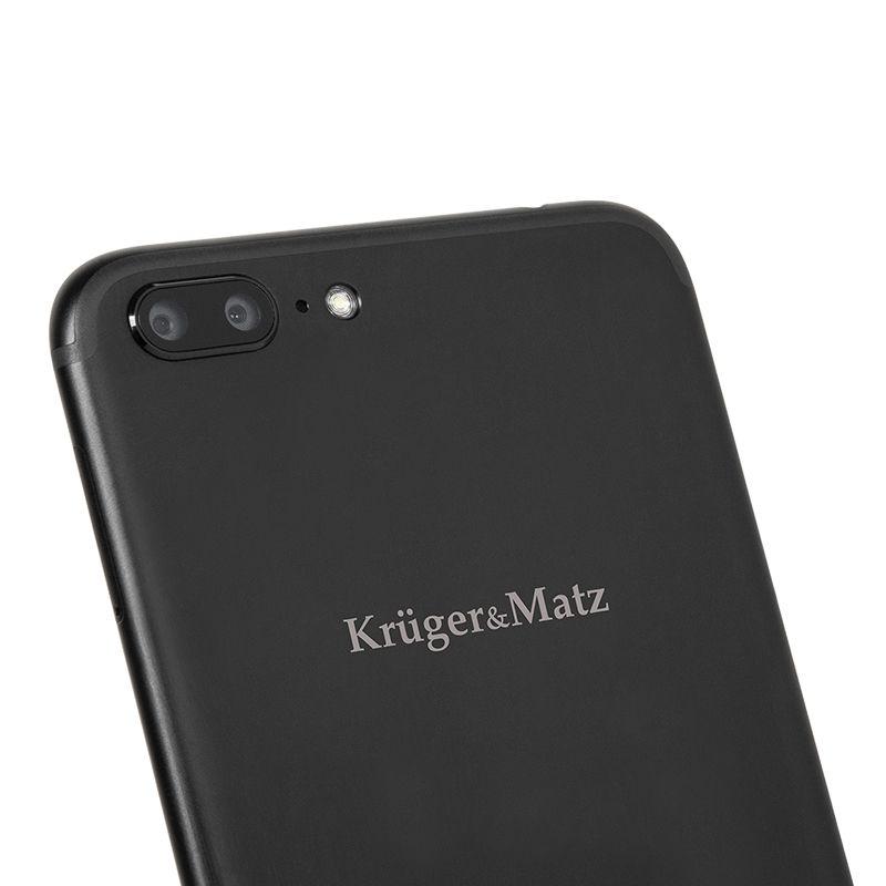 Telefon mobil Kruger-Matz Live 5, Dual SIM, Quad-Core, 32 GB, LTE, Negru