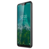 Telefon mobil Live 7 Kruger & Matz, Octa Core, Dual-SIM, 64 GB, 4 GB RAM, LTE, Negru
