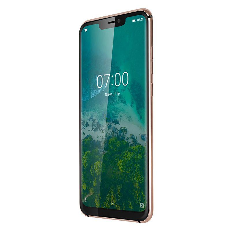 Telefon mobil Live 7S Kruger & Matz, Dual-SIM, Octa Core, 64 GB, 4 GB RAM, LTE, Gold 2021 shopu.ro