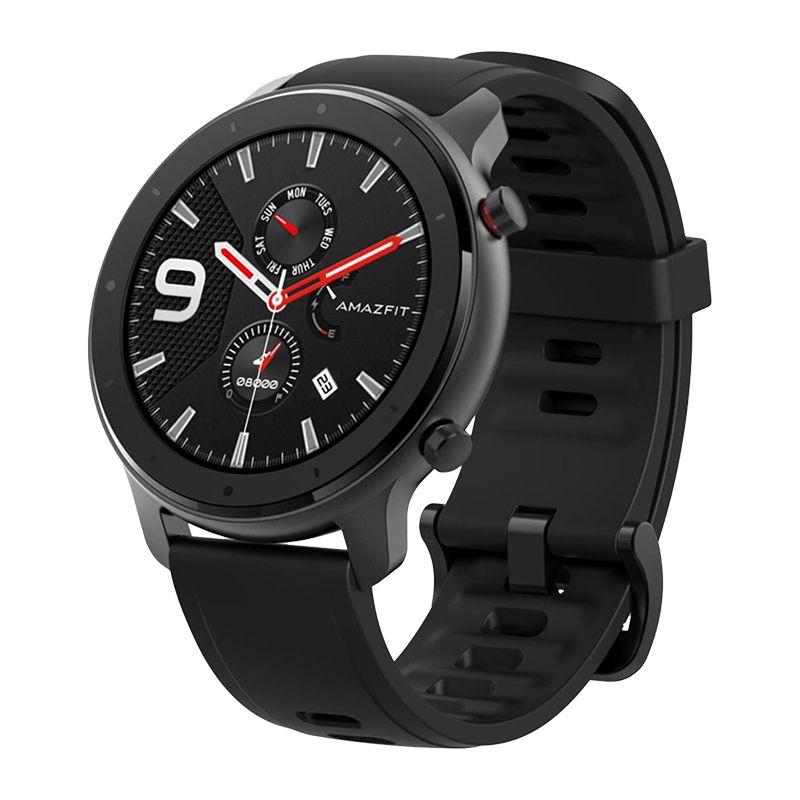 Smartwatch Amazfit GTR Lite Alluminium Xiaomi, 1.39 inch, Bluetooth 5.0, Amoled, 410 mAh, Negru 2021 shopu.ro
