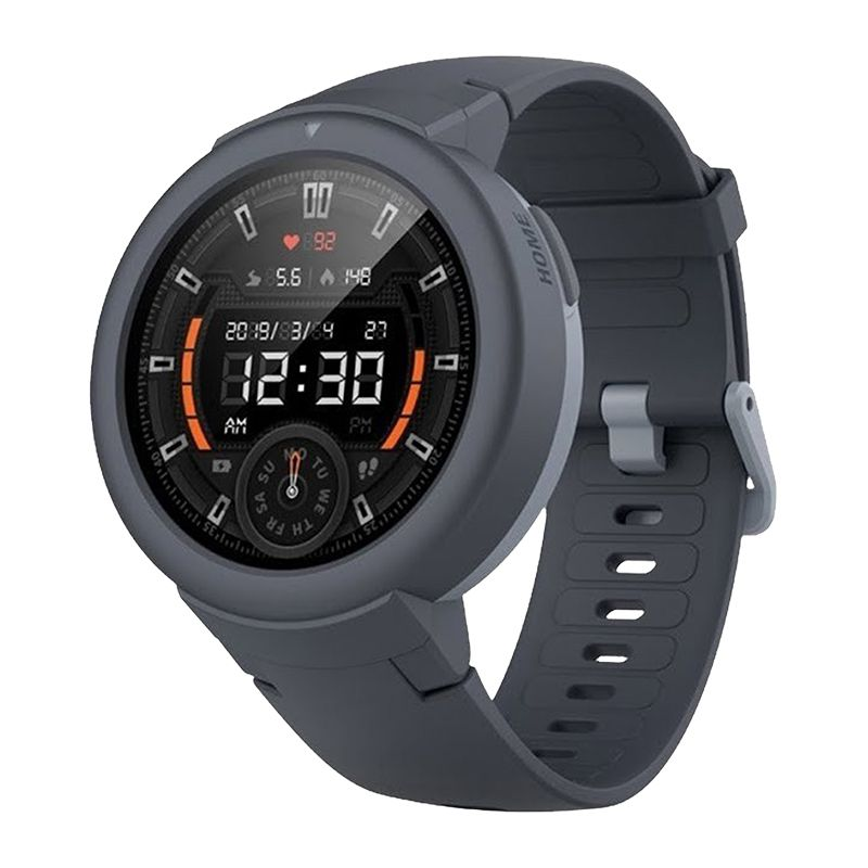 Smartwatch Amazfit Verge Lite Xiaomi, 1.3 inch, Bluetooth 5.0, Amoled, 390 mAh, IP68, Gri 2021 shopu.ro