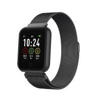 Ceas Smartwatch Forever ForeVigo, Bluetooth 4.2, 180 mAh, incarcare USB, Negru