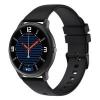 Smartwatch Imilab B+B Xiaomi, 1.28 inch, 340 mAh, 13 moduri sport, monitorizare somn, 2 curele incluse, Negru