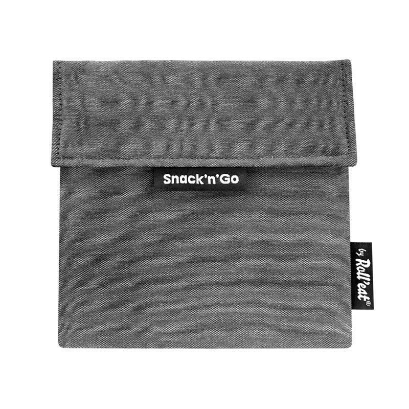 Gentuta reutilizabila pentru gustari Snack'n'Go Eco, Negru 2021 shopu.ro