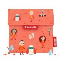 Gentuta reutilizabila pentru gustari Snack'n'Go Kids Space