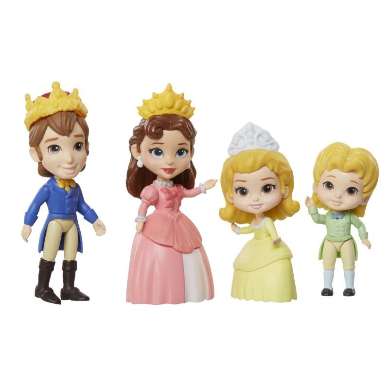 Set 4 figurine Sofia Intai Familia Regala, 8 cm, 3 ani+ 2021 shopu.ro