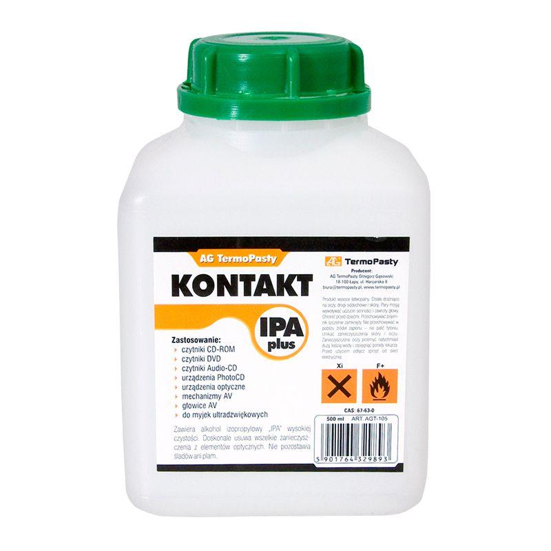 Solutie alcool izopropilic IPA Plus, 500 ml