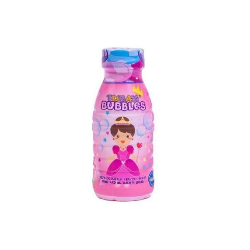 Solutie baloane de sapun Princess Tuban, 250 ml, 3 ani+ 2021 shopu.ro