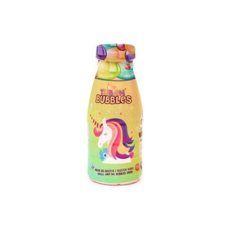Solutie baloane de sapun Unicorn Tuban, 250 ml, 3 ani+ 2021 shopu.ro