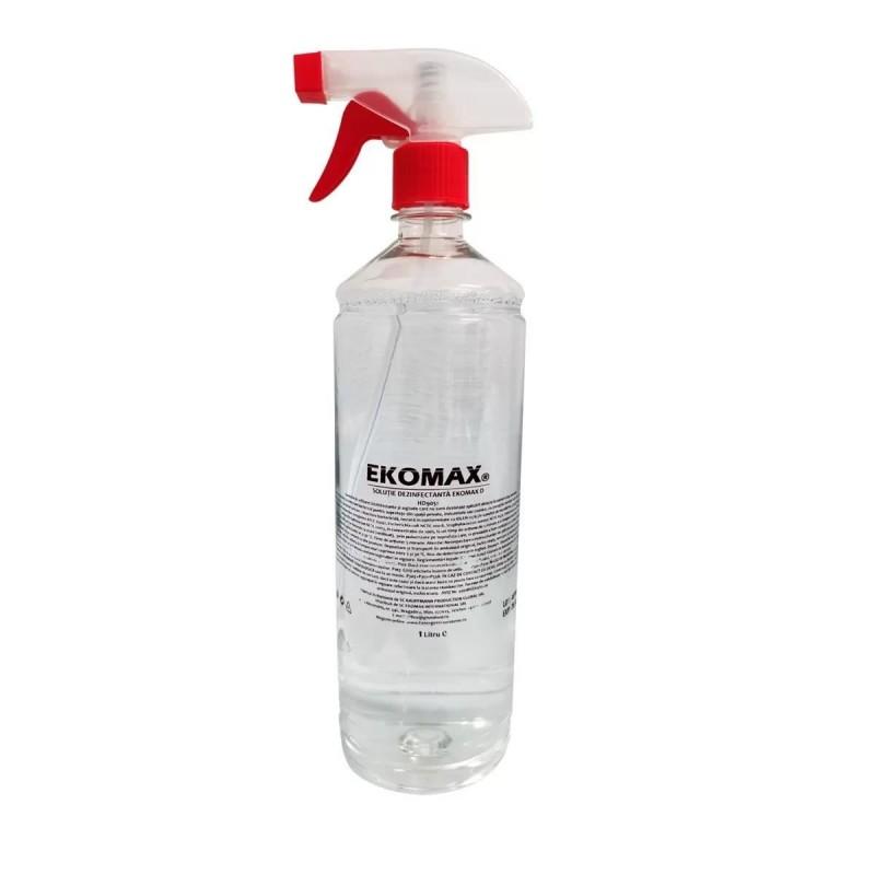 Solutie dezinfectanta pentru suprafete Ekomax, 1 l 2021 shopu.ro