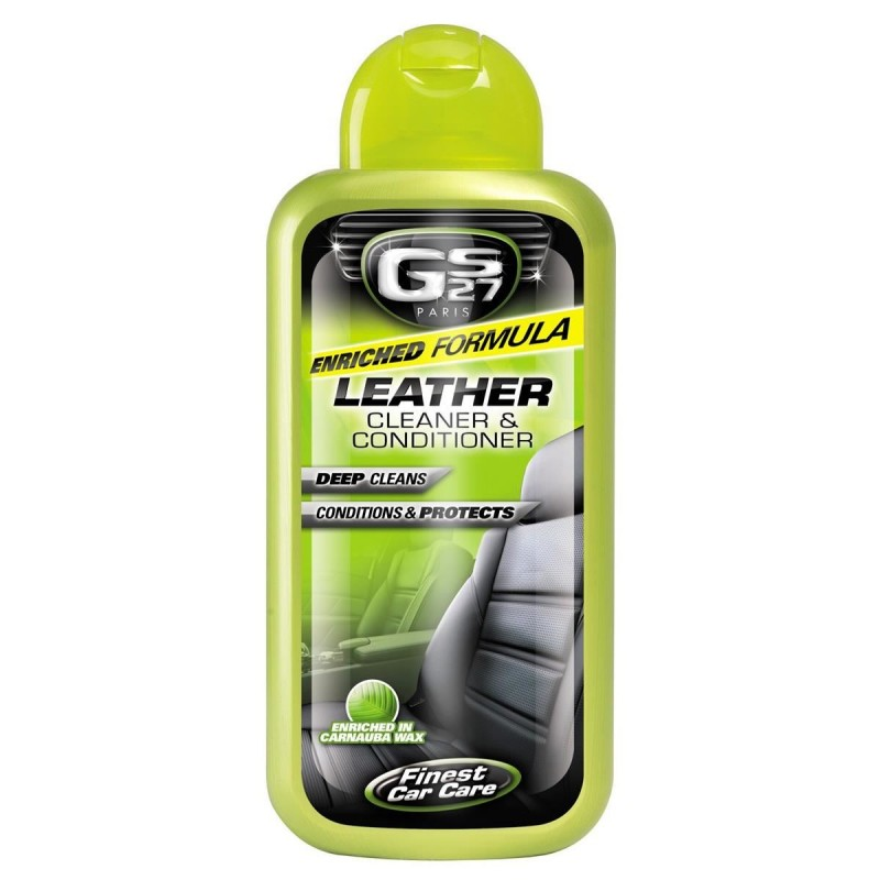 Solutie GS27 pentru curatat si reconditionat tapiteria din piele, 375 ml 2021 shopu.ro