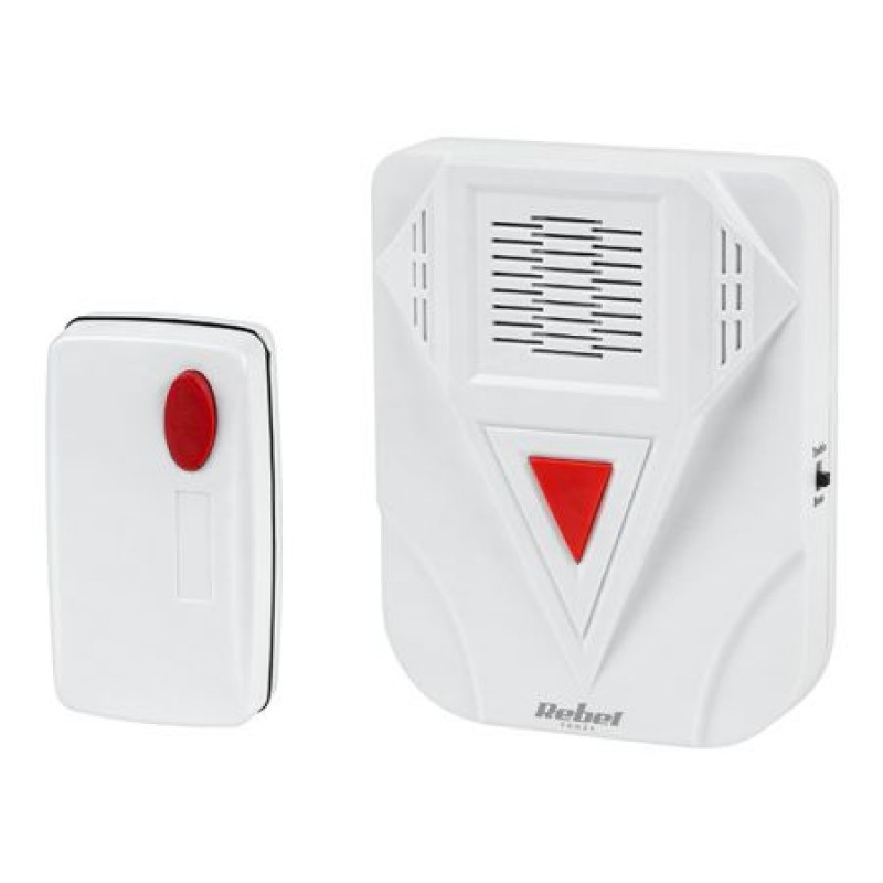 Sonerie wireless Rebel, 12 V, 23 A, raza actiune 50 m, 15 melodii 2021 shopu.ro