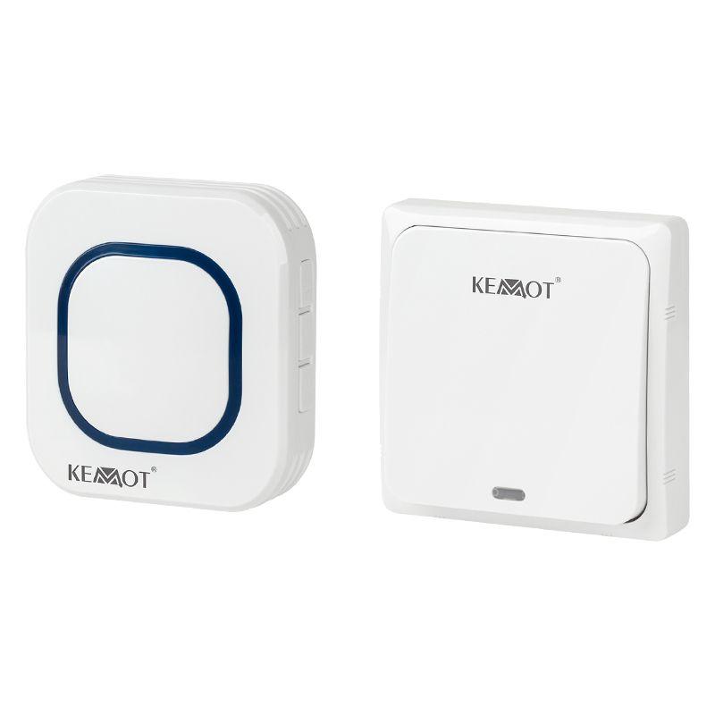 Sonerie wireless Kemot, alimentare la priza, 58 de melodii, actiune 150 m 2021 shopu.ro