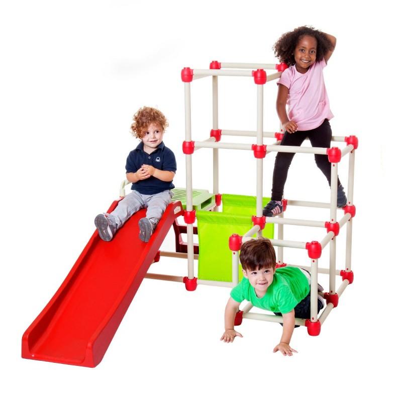 Spatiu de joaca Climb n' Slide Everest Lil' Monkey, 150 x 120 x 80 cm 2021 shopu.ro