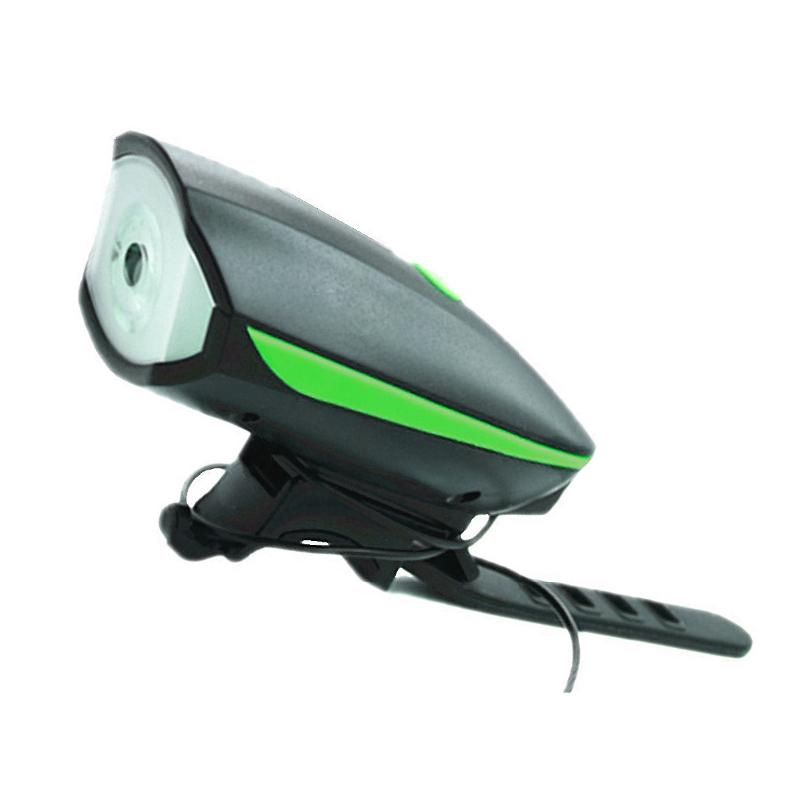 Difuzor bicicleta cu lumina West Biking, USB, 1200 mAh 2021 shopu.ro