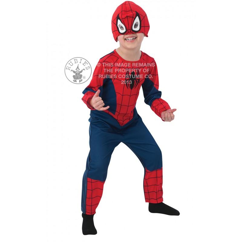 Costum pentru baieti Spiderman Classic Todd, varsta 2-3 ani 2021 shopu.ro