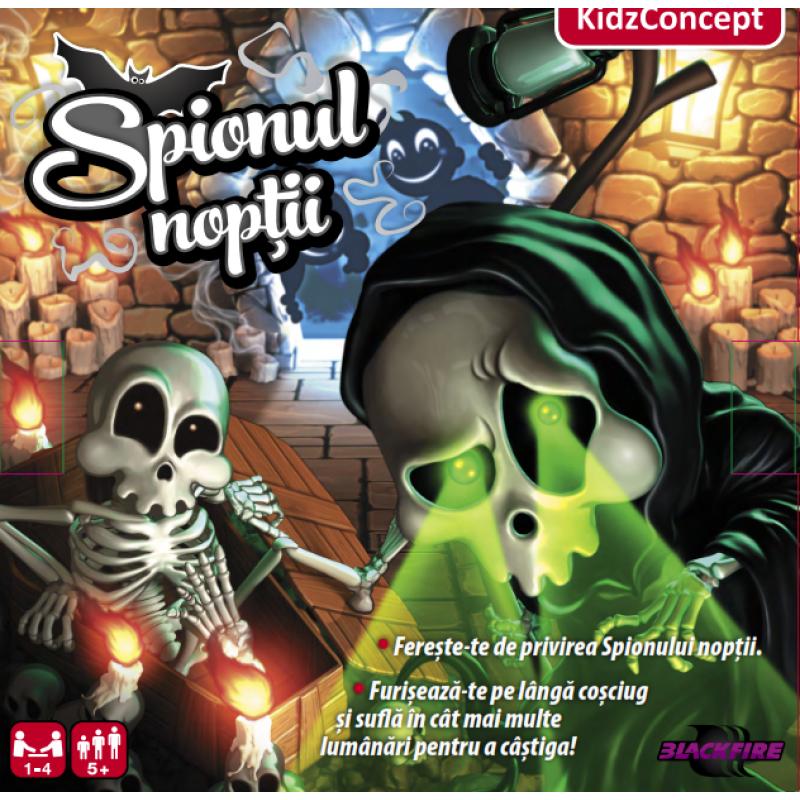 Joc de societate Spionul noptii, 1-4 jucatori, 5 ani+ 2021 shopu.ro