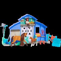 Set de joaca Padoc DreamWorks Lucky si Spirit, 10 accesorii, 3 ani+